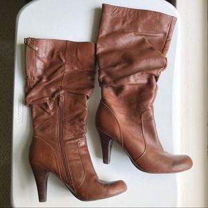 Guess Heeled Tall Boots Women's Sz 9
